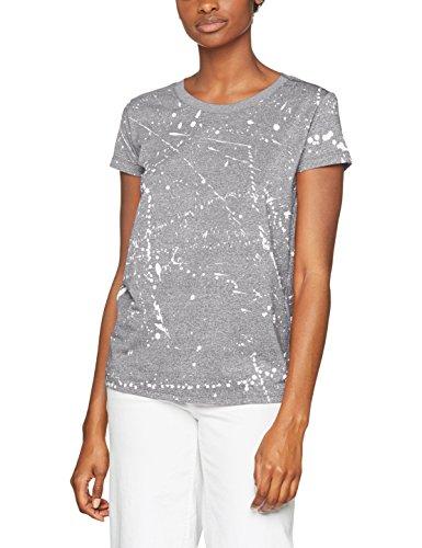 Wmn s G Camiseta Htr Raw Ao T S grey milk Mujer Multicolor 8220 Para Splatter Luuto Straight R star gq0W1zRgS