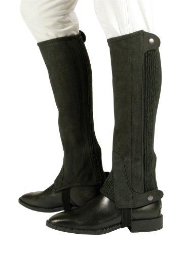 PFIFF Damen Minichaps, Black, L, 011469-60-L