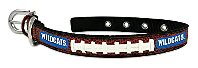 Kentucky Wildcats Classic Leather Small Football Collar - Licensed NHL Hockey Merchandise