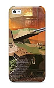 Wonderful Design Tank Military Man Made Military Case Cover For Iphone 5c