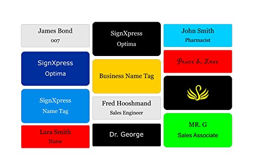 Personalized Name Badge - 4
