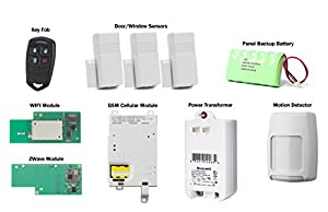 Honeywell Wireless Lynx Touch L7000 Home Automation/Security Alarm Kit with Wifi, Zwave & GSM Module from Honeywell