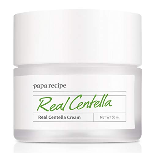 Papa Recipe Real Centella Cream, Korean Skin Care, Acne and Sensitive Care, Moisturizing Cream, 1.69 Ounce