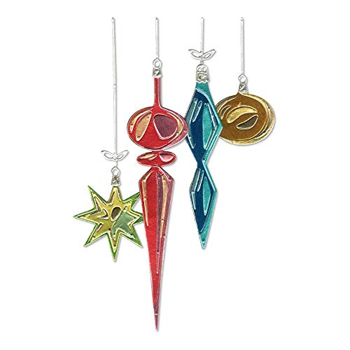 - Sizzix 664197 Hanging Ornaments by Tim Holtz Dies, us:one Size, Multicolor