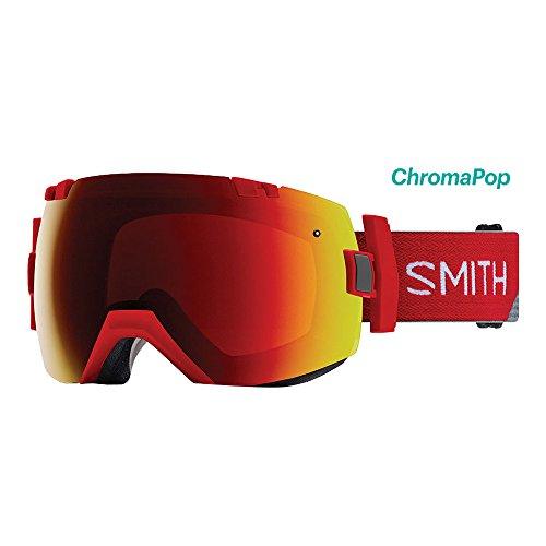 Smith Optics I/OX Goggle - Fire Split Frame/ChromaPop Sun Red Mirror/ChromaPop Storm Rose - Sun Goggles