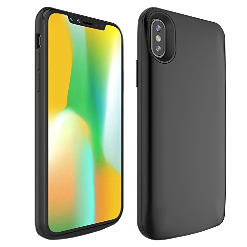 iPhone X Battery Case, BrexLink 3600mAh iPhone X Rechargeable Portable Charging Case External Battery Juice Pack, Protective Charging Battery Pack Case ford iPhone X (3600mAh)