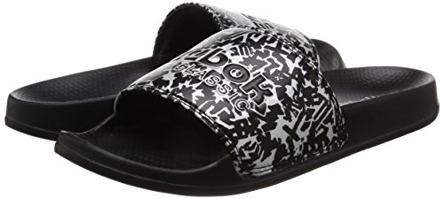 Reebok Classic Slide Womens Sandals Metallic Metallic W5mjaAy1Ew