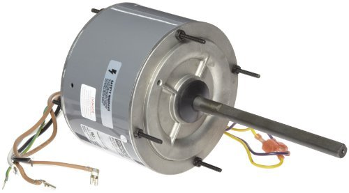 (Fasco D7909 5.6 Frame Open Ventilated Permanent Split Capacitor Condenser Fan Motor with Ball Bearing, 1/4HP, 1075rpm, 208-230V, 60Hz, 1.8 amps by Fasco)