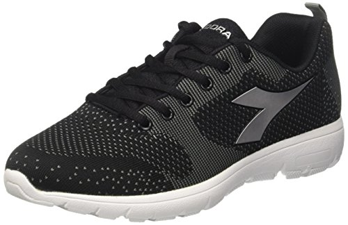 Scarpe Donna Run Diadora Light Nero Argento Nero da W X Running 5I0q0xfw