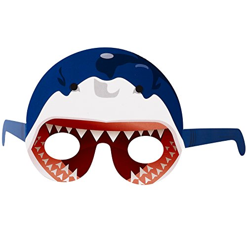 BirthdayExpress Shark Head Party Favors - Photo Prop Masks ()