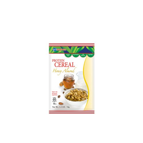 Kays Naturals 1151505 Honey Almond Protein Cereal, 1.2 oz - Case of 6