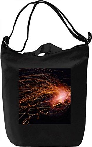 Light Print Borsa Giornaliera Canvas Canvas Day Bag  100% Premium Cotton Canvas  DTG Printing 