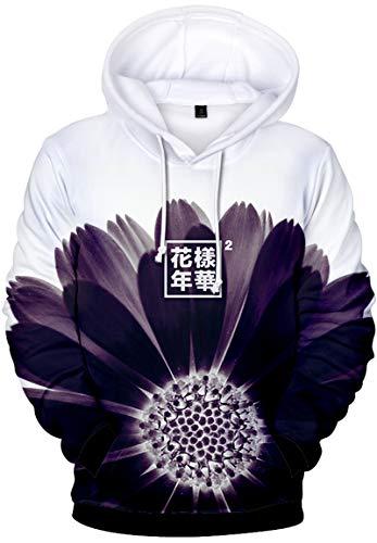 Kpop Con Kook Suga Impresión Fans J Tear hope Capucha Mujeres Camiseta Cool Girasol Bts Yourself Para Love Emilyle Jung Jimin 3d Chicas Sudadera Bangtan Boys V Chula WqwTxtRUBY