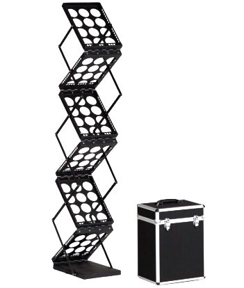 collapsable-literature-rack-for-trade-show-booth-display-black-lit-rack