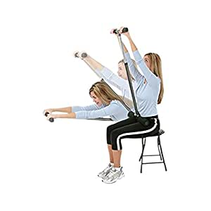 CoreStretch - Adjustable Back, Shoulder & Hamstring Stretcher - Includes Coaching Guide