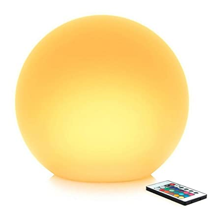 a87b7b9c581 Amazon.com: Mr.Go 14-inch Multi-Function Color Changing LED Ball ...