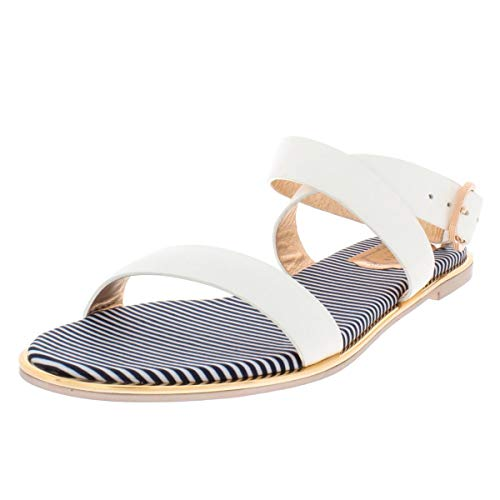 (Ted Baker Women's Qereda Sandal, White, 10 Medium US)
