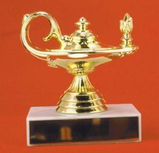 Lámpara de Conocimiento trofeo, pack de 2: Amazon.es: Oficina y papelería