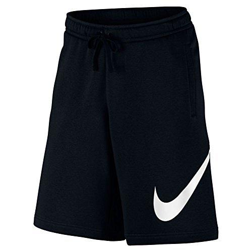 Mens Club Short (Nike Mens Club Explosive Shorts Black/White 843520-010 Size X-Large)