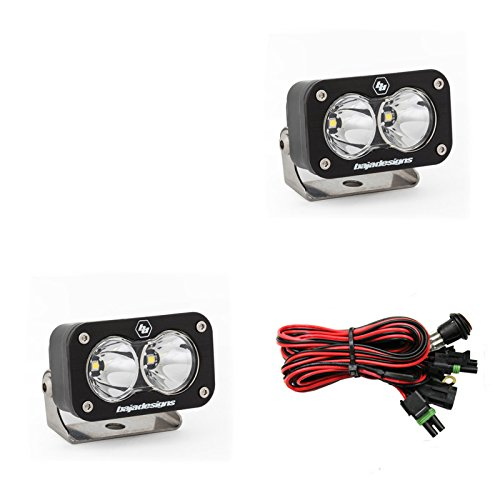 Baja Designs UTV S2 Sport Pair Work Scene LED Lights