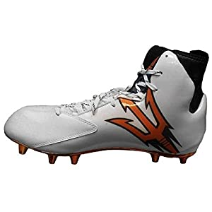 adidas Men's Special Crazyquick 2.0 High Wide 2 Football Cleats (11, White/Core Black/Copper Metallic)