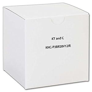 KT&C KNC-p3BR28V12IR HDTV MEGAPIXEL IP NETWORK 3MP OUTDOOR BULLET CAMERA with 2.8-12MM LENS DUAL EXIR SUPER BEAM IR LEDS