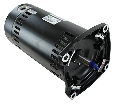 Flange Replacement Motor - Century USQ1072 3/4 HP, 13.4/6.7 Amps, 1.3 Service Factor, 48Y Frame, Capacitor Start, ODP Enclosure, Square Flange Pool Motor (Formerly A.O. Smith)