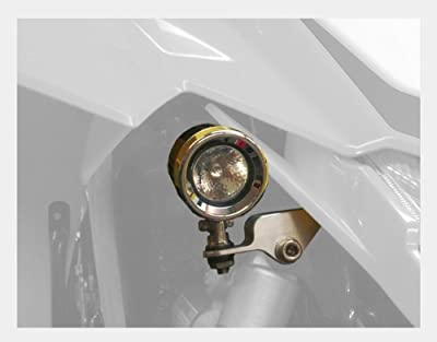 Trail Tech 551-SS450 Polished 50W MR16 Halogen Stock Location Mount Light for Suzuki LTR450