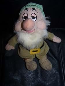 "Disney Sleepy Dwarf Beanbag Plush 8"""