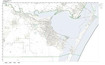 Amazon.com: ZIP Code Wall Map of Corpus Christi, TX ZIP Code Map ...