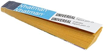 Whatman Paper Starch Iodide Book, 1.0 - 11.0 pH (Pack of 10 Books of 20 Strips Each)
