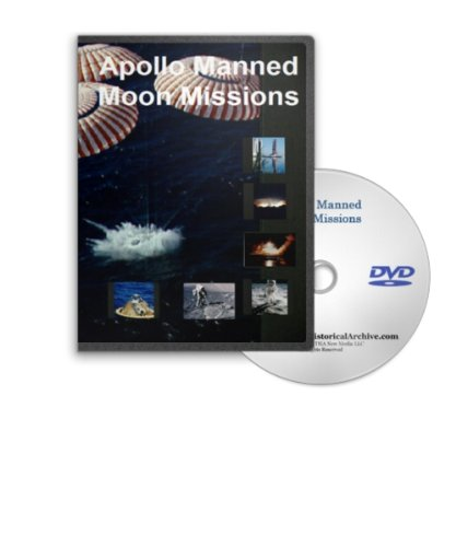 The NASA Apollo Manned Moon Missions - The Story Of Apollo 11, Apollo 12, Apollo 15, Apollo 16 and Apollo 17 (Apollo 15 Dvd)