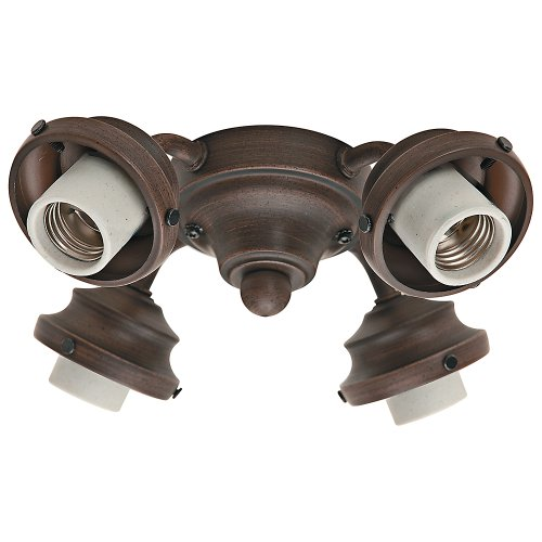 (Hunter 99144 Four Light Fitter, Cocoa)