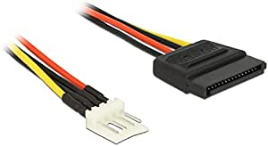 Delock Cable Power SATA 15 Pin Male to Floppy 4