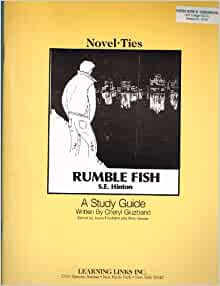 Rumble fish novel ties study guide orange cover amazon for Rumble fish novel