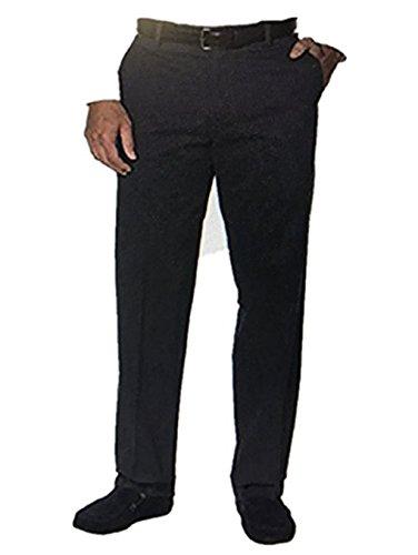Charcoal Heather Kirkland Signature Mens Non Iron Comfort Pant