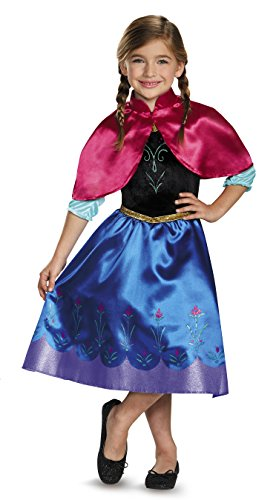 Hollywood Adventures Costumes (Anna Classic Costume, X-Small (3T-4T))