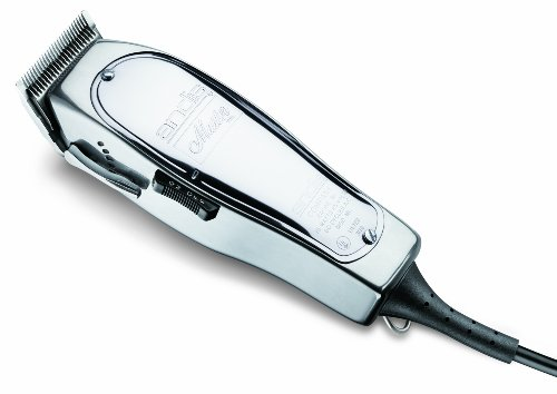 Andis Master 15-Watt Adjustable Blade Hair Clipper, Silver (01557) by Andis