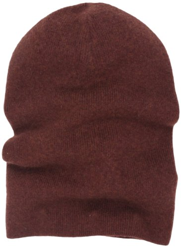 Marc Jacobs Men's Washed Cashmere Hat, Cognac, Medium