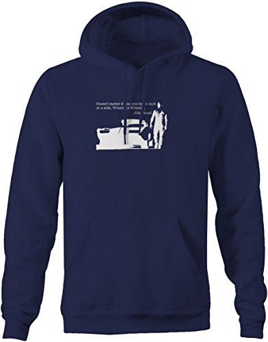 Vin Diesel Fast Furious Charger Racing Win by an Inch Quote Sweatshirt - 2XL (Vin Diesel Wife In Fast N Furious)