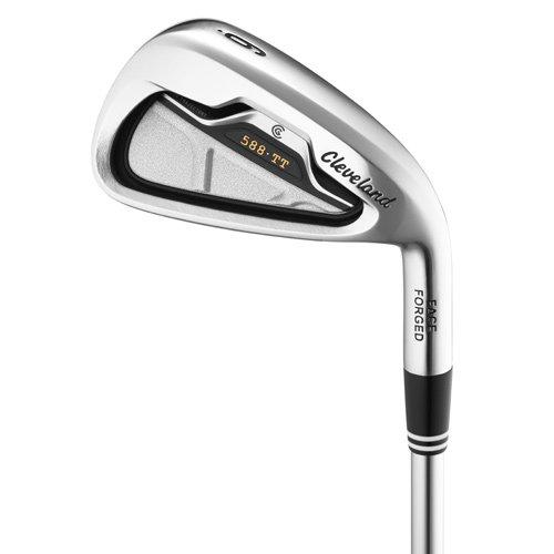 Cleveland Golf 588 TT Iron Set (Men's, Left Hand, Steel, Stiff, 3-PW)