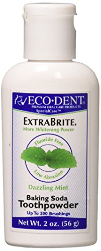 - Eco-Dent International Tooth Whitener/Mint Powder 2 Oz (Pack of 3)