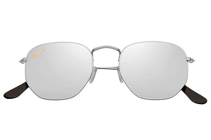 Capraia Lacrima Modernas Hexagonales Gafas de Sol Alta ...