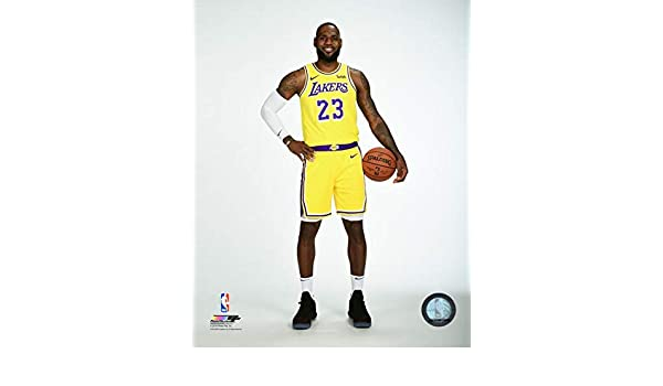 9bc49c01a37 Amazon.com  Lebron James Los Angeles Lakers NBA Photo (Size  8