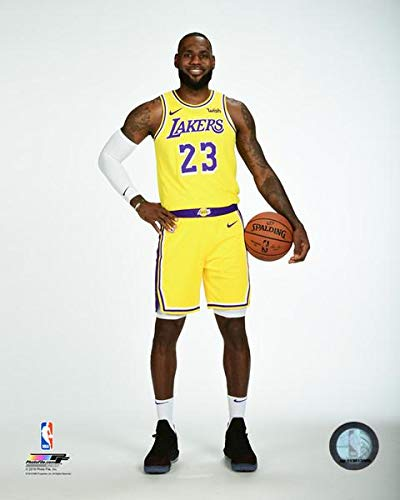 4f44c4768fc Image Unavailable. Image not available for. Color  Lebron James Los Angeles  Lakers 2018 NBA Posed ...