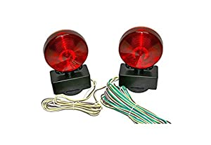 41r34FrrkwL._SX300_ amazon com haul master 12 volt magnetic towing light kit automotive,Magnetic Tow Light Wiring Diagram