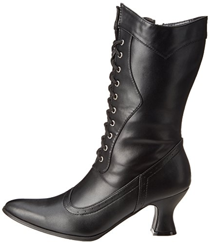 253 Victorian Shoes Polyurethane 7 Black Ellie Us Amelia M Boot Women's SBFZqwE