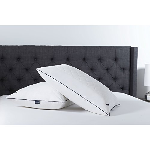 Nautica All Sleep Positions Adjustable Memorelle Twin Pack Pillow, Jumbo