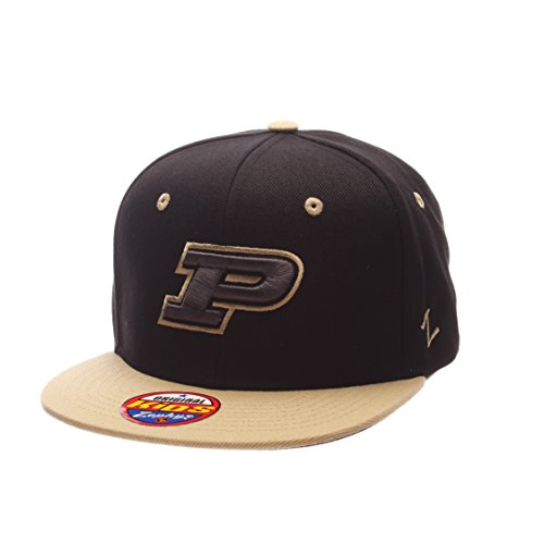 (Zephyr NCAA Purdue Boilermakers Children Boys Youth Z11 Phantom Snapback Hat, Adjustable Size, Black/Team Color)