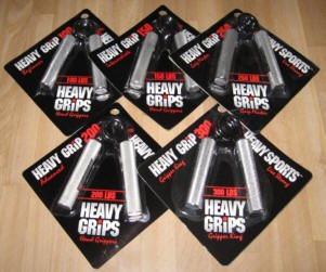Heavy Grips - Set of 5: 150 to 350 lbs by Heavy Grips